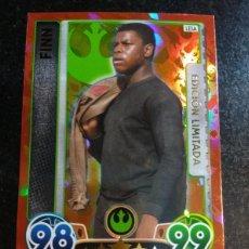 Trading Cards: STAR WARS EDICION LIMITADA FINN TOPPS. Lote 91318580