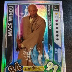 Trading Cards: STAR WARS EDICION LIMITADA MACE WINDU TOPPS 2017. Lote 107807007
