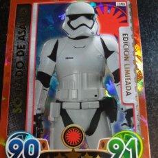 Trading Cards: STAR WARS EDICION LIMITADA SOLDADO DE ASALTO TOPPS. Lote 91318605