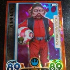Trading Cards: STAR WARS EDICION LIMITADA NIEN NUNB TOPPS. Lote 107807028
