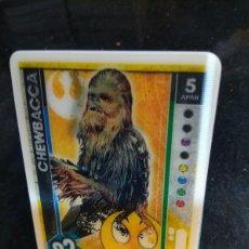 Trading Cards: STAR WARS EDICION LIMITADA CHEWBACCA TOPPS 2017. Lote 107706138