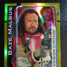 Trading Cards: STAR WARS EDICION LIMITADA BAZE MALBUS TOPPS. Lote 145138036