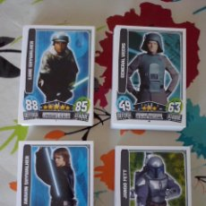 Trading Cards: TOPPS - LOTE 138 CARDS BASICAS STAR WARS FORCE ATTAX 2013 SERIE 3. NUEVAS A ESTRENAR. Lote 92099080