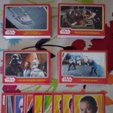 Trading Cards: TOPPS - COLECCION 160 CARDS BASICAS EL VIAJE HACIA STAR WARS- NUEVAS A ESTRENAR. Lote 92170835