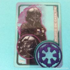 Trading Cards: TOPPS - STAR WARS ROGUE ONE - Nº 199 - CARTA PLASTICA - PILOTO DE CAZA TIE. Lote 93006945
