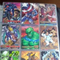 Trading Cards: DC VERSUS MARVEL USA 17 TRADING CARTS+ 1 ESPECIAL AÑO1995. Lote 97033271