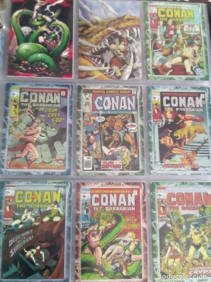 CONAN THE BARBARIAN 78 TRADING CARTS USA DIFICIL AÑO1996 NUEVO (Coleccionismo - Cromos y Álbumes - Trading Cards)
