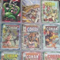 Trading Cards: CONAN THE BARBARIAN 78 TRADING CARTS USA DIFICIL AÑO1996 NUEVO. Lote 97039007