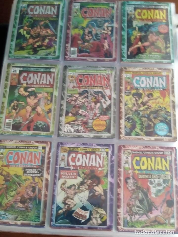 Trading Cards: CONAN THE BARBARIAN 78 TRADING CARTS USA DIFICIL AÑO1996 NUEVO - Foto 6 - 97039007