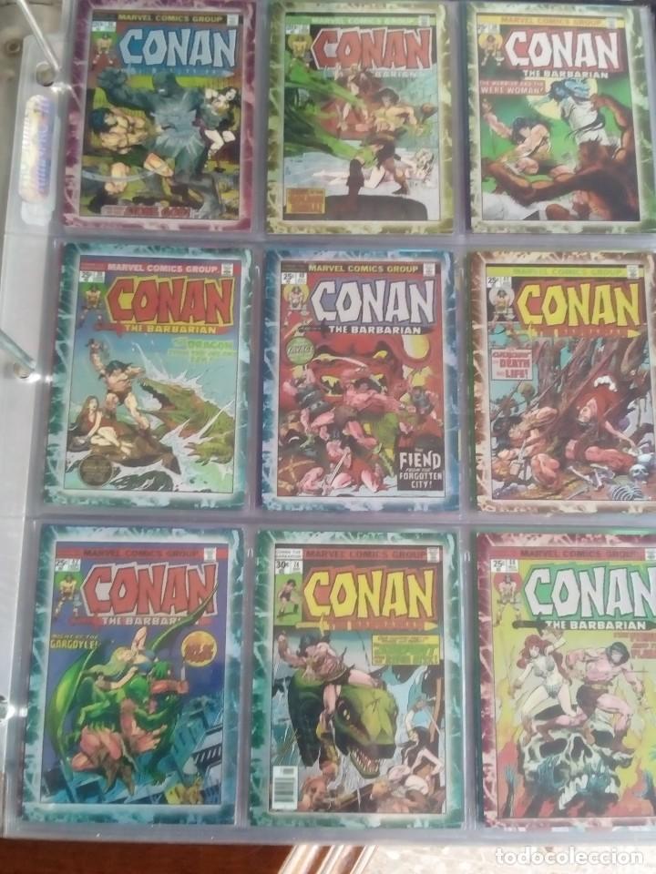 Trading Cards: CONAN THE BARBARIAN 78 TRADING CARTS USA DIFICIL AÑO1996 NUEVO - Foto 7 - 97039007