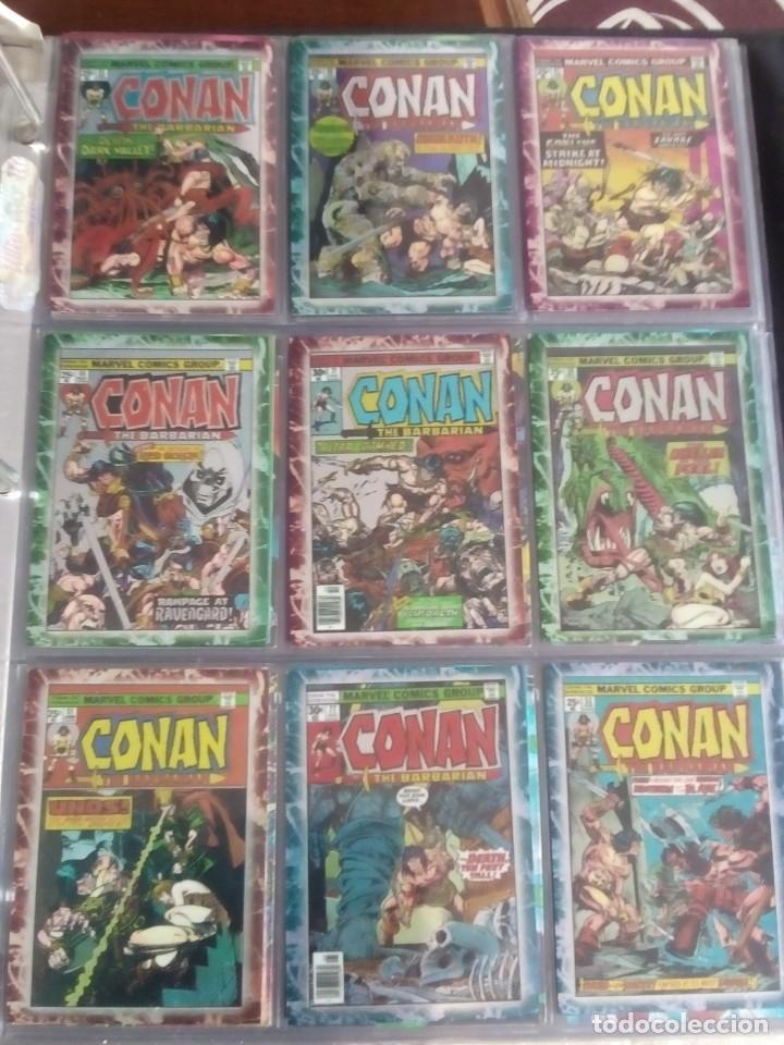 Trading Cards: CONAN THE BARBARIAN 78 TRADING CARTS USA DIFICIL AÑO1996 NUEVO - Foto 9 - 97039007