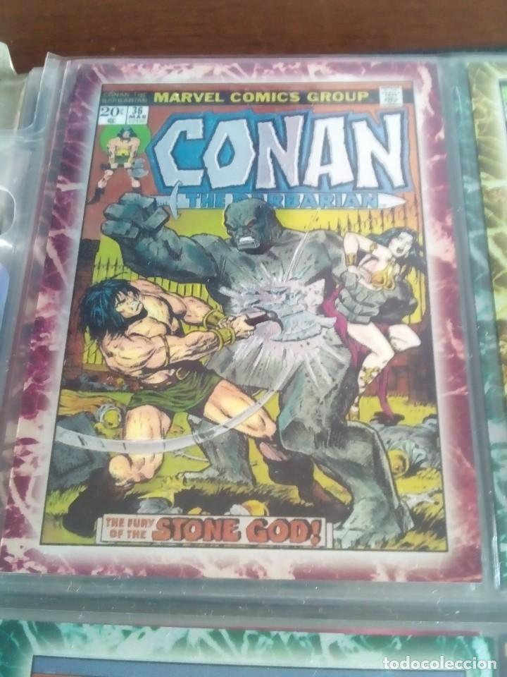 Trading Cards: CONAN THE BARBARIAN 78 TRADING CARTS USA DIFICIL AÑO1996 NUEVO - Foto 17 - 97039007