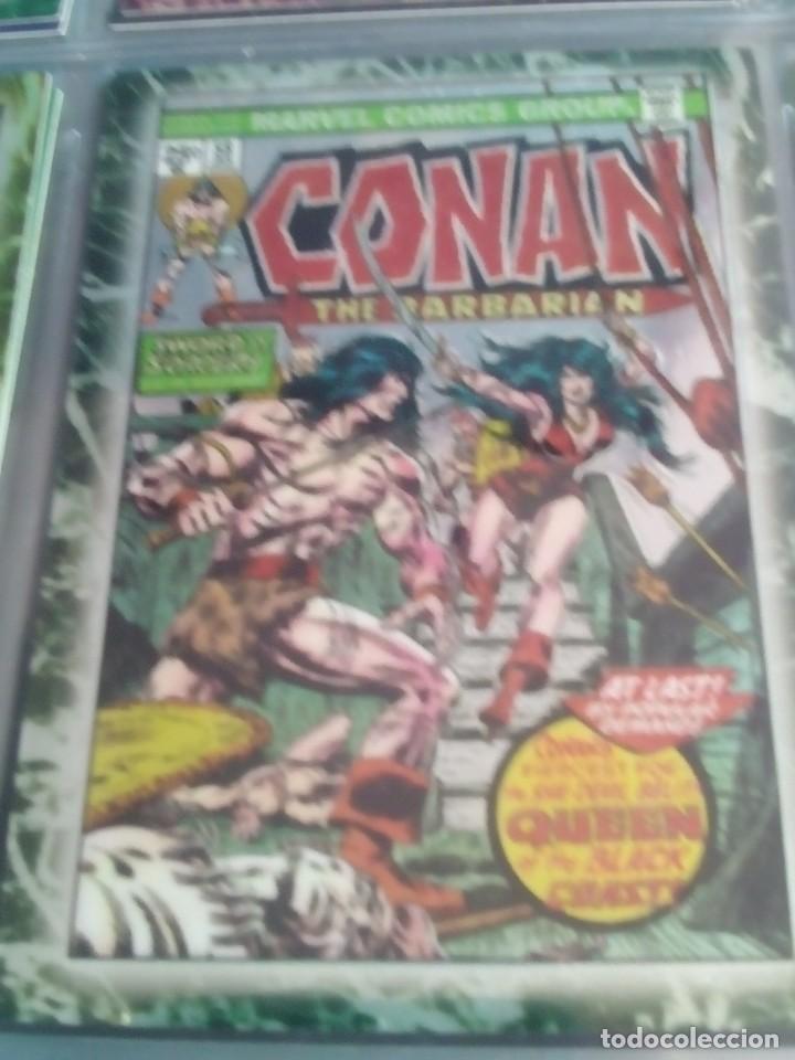 Trading Cards: CONAN THE BARBARIAN 78 TRADING CARTS USA DIFICIL AÑO1996 NUEVO - Foto 19 - 97039007