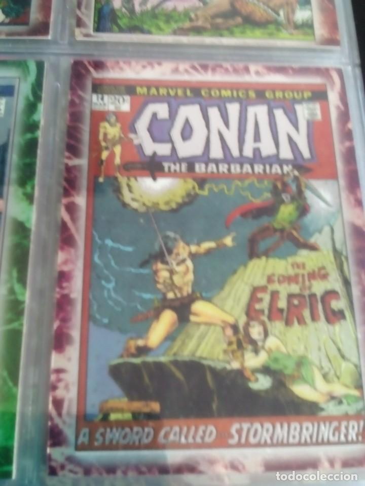 Trading Cards: CONAN THE BARBARIAN 78 TRADING CARTS USA DIFICIL AÑO1996 NUEVO - Foto 25 - 97039007