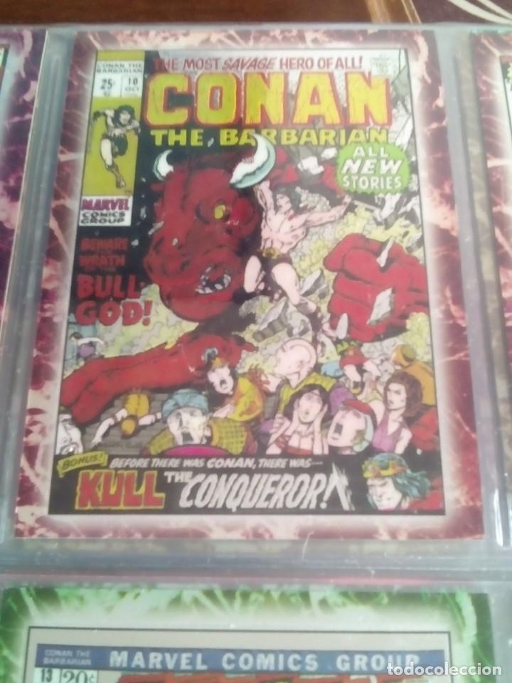Trading Cards: CONAN THE BARBARIAN 78 TRADING CARTS USA DIFICIL AÑO1996 NUEVO - Foto 26 - 97039007