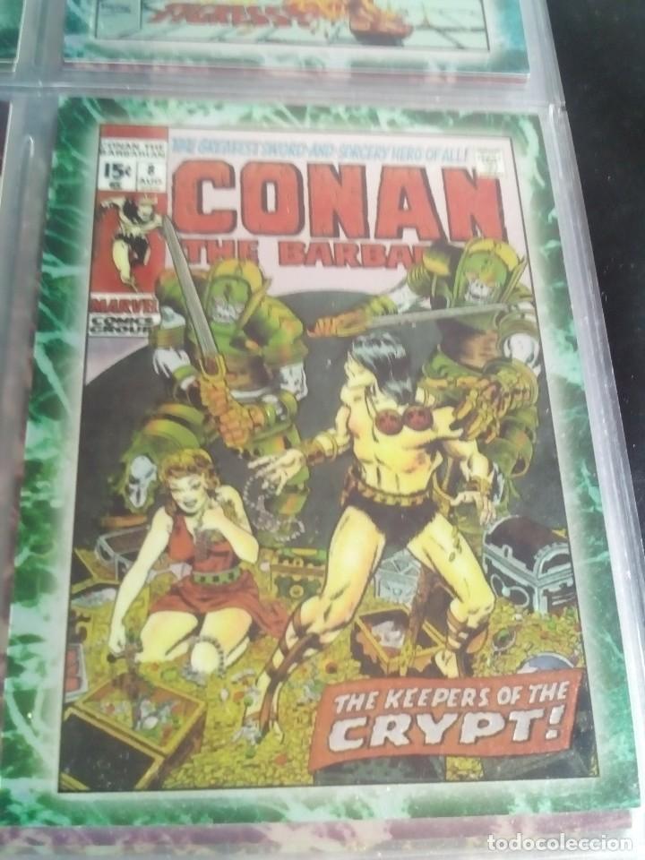 Trading Cards: CONAN THE BARBARIAN 78 TRADING CARTS USA DIFICIL AÑO1996 NUEVO - Foto 27 - 97039007