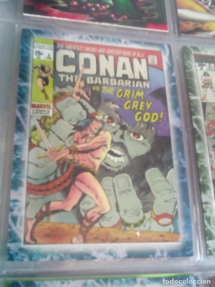 Trading Cards: CONAN THE BARBARIAN 78 TRADING CARTS USA DIFICIL AÑO1996 NUEVO - Foto 29 - 97039007