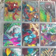 Trading Cards: SPIDER-MAN THE MCFARLANE 90 TRADING CARTS USACOMPLETA AÑO1992. Lote 97069559