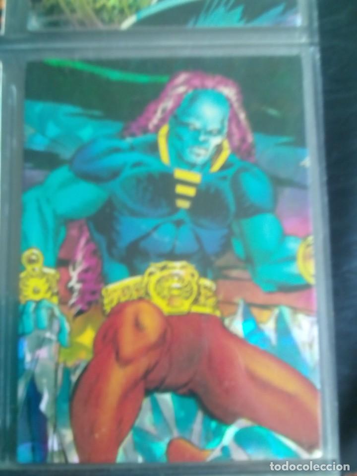 Trading Cards: SILVER SURFER 11 TRADING CARTS USA CON BRILLO AÑO 1992 - Foto 6 - 97070775