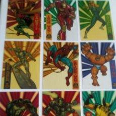 Trading Cards: MARVEL UNIVERSE 218 TRADING CARTS USA AÑO 1994 COMPLETA DIFICIL. Lote 97073451