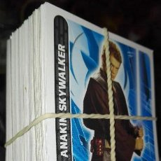 Trading Cards: LOTE COMPLETO LAS 120 CARTAS STAR WARS. Lote 98615015