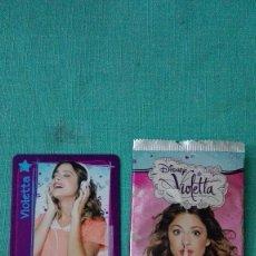 Trading Cards: TRADING CARDS VIOLETA.TOPPS.LEER DESCRIPCIÓN. Lote 98660547