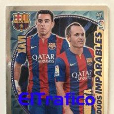 Trading Cards: ADRENALYN XL 2014-15 Nº 440 BARCELONA - XAVI INIESTA. Lote 99292855