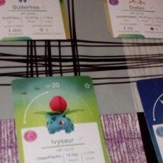Trading Cards: CAJ-8U9 LOTE DE POKEMON GO VER FOTOS PARA VER LOS QUE SON CON CAJA. Lote 99315927