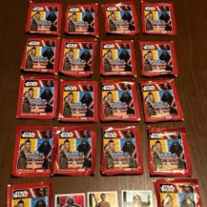 Trading Cards: STAR WARS FORCE ATTAX 19 PAQUETES INCLUIDOS. Lote 99900919