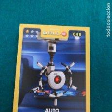Trading Cards: DISNEY-PIXAR HIPERCOR. WALL-E. Nº 048. AUTO. Lote 100366807