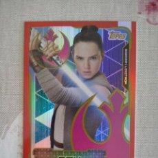Trading Cards: CARD EDICION LIMITADA ALBUM STAR WARS : LOS ULTIMOS JEDI - LESA REY . NUEVA A ESTRENAR. Lote 101068663