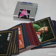 Trading Cards: 87 CARTAS DE STAR TREK, TM IMPEL 1991, TRADING CARDS. Lote 101241803