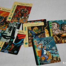 Trading Cards: 12 CARTAS DE OVER POWER, DC COMICS 1996, TRADING CARDS. Lote 101244563