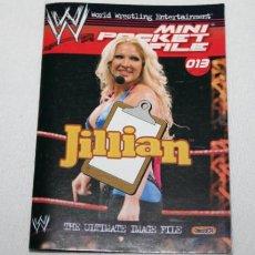 Trading Cards: MINI REVISTA DE PRESSING CATCH, JILLIAN, W MAX SUPERSTARS CHAMPIONS 2007, TM. Lote 101771507
