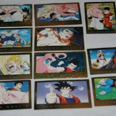 Trading Cards: LOTE 18 CARTAS DE DRAGON BALL Z SERIE 3, 1989, COLLECTION CARD, TRADING CARDS. Lote 101776011