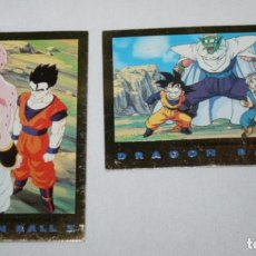 Trading Cards: LOTE 2 CARTAS DE DRAGON BALL Z SERIE 3, 1989, COLLECTION CARD, TRADING CARDS. Lote 101778843