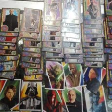 Trading Cards: LOTE STAR WARS JEDI TOPPS CARDS. Lote 102350827