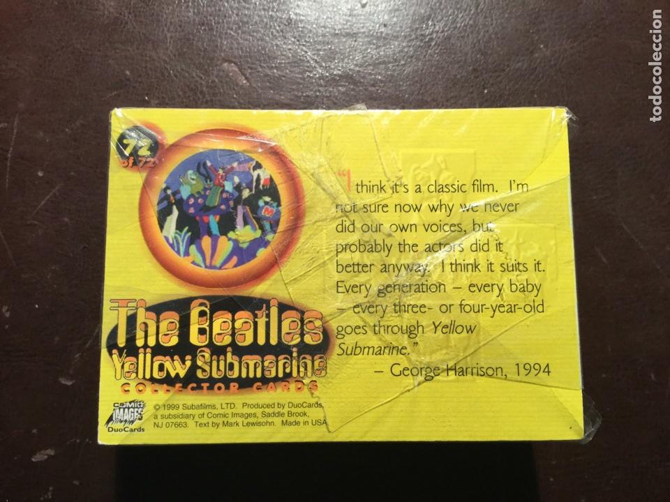 THE BEATLES. YELLOW SUBMARINE.COLECCIÓN COMPLETA DE 72 CARDS. A ESTRENAR. 1999. (Coleccionismo - Cromos y Álbumes - Trading Cards)