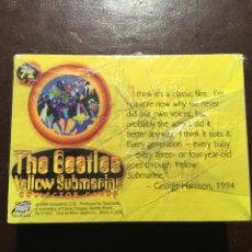 Trading Cards: THE BEATLES. YELLOW SUBMARINE.COLECCIÓN COMPLETA DE 72 CARDS. A ESTRENAR. 1999.. Lote 102425402