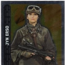 Trading Cards: STAR WARS - TOPPS FORCE ATTAX - Nº 119 - JYN ERSO - CARREFOUR. Lote 102460487