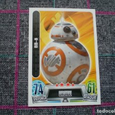 Trading Cards: TOPPS FORCE ATTAX DE STAR WARS. DROIDE BB-8.. Lote 102730235
