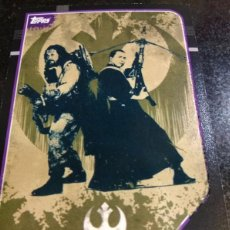 Trading Cards: TOPPS 2016 TRADING CARDS Nº 212 STAR WARS -ROGUE ONE CARTA. Lote 211627905