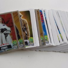 Trading Cards: HEROES Y VILLANOS - TRADING CARD STAR WARS FORCE ATTAX HÉROES Y VILLANOS TOPPS DISNEY-CARREFOUR 2016. Lote 103206563