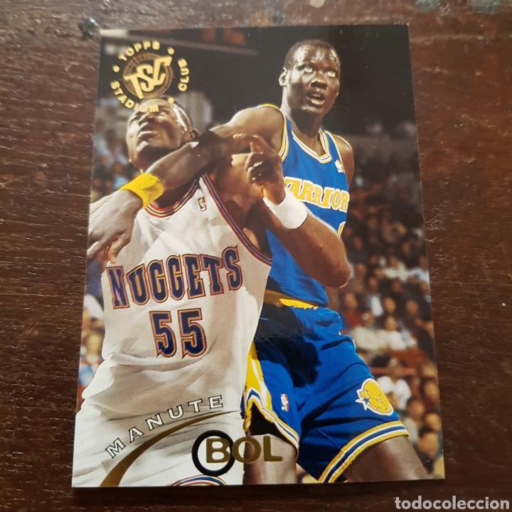 11a2e775f1d3 NBA MANUTE BOL (GOLDEN STATE WARRIORS) N. 346 TOPPS STADIUM CLUB 1994-