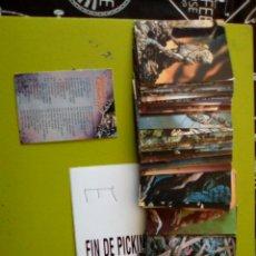 Trading Cards: LOTE 84 CARDS DIFERENTES BERNIE WRIGHTSON 1994 COLECCIÓN DE TERROR DEL FAMOSO DIBUJANTE. Lote 103568131