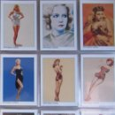 Trading Cards: HOLLYWOOD PINUPS - COLECCION COMPLETA DE TRADING CARDS. Lote 104068883