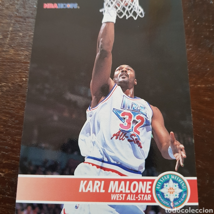 new arrivals e3d80 fe613 Nba west all star karl malone n° 242 94-95 nba - Sold ...