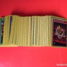 Trading Cards: INVIZIMALS - LOTE DE 149 CARDS--TODAS DIFERENTES - BATALLA DE CAZADORES. Lote 104430259