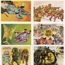 Trading Cards: CASI COMPLETA - JACK KIRBY THE UNPUBLISHED ARCHIVES BASE SET (COMIC IMAGES,1994) # 87 DE 90 TRADINGS. Lote 104703891