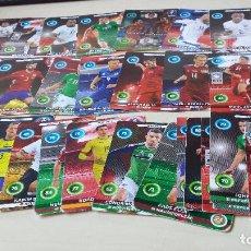 Trading Cards: LOTE DE FICHAS ADRENALYN UEFA EUROCOPA 2016, PANINI. Lote 104743295